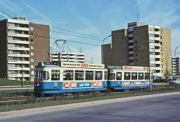 TRIEBWAGEN TYP M 4.65  tram münchen