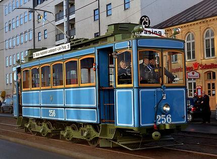 TRIEBWAGEN TYP A 2.2Nr. 256 tram München FMTM