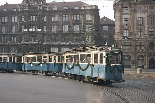 Triebwagen Typ F 2.10München tram FMTM lenbachplatz