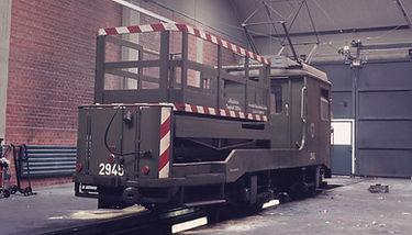 TURMWAGEN TYP Tu 1.8 2946 münchen tram grün alte Lackierung