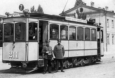 München Tram Typ A 2.2 211 elektrische