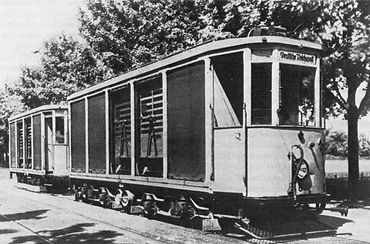 TYP s 4.48 postwagen posttram post tram münchen