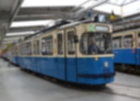 TRIEBWAGEN TYP M 5.65 tram münchen 2616