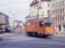 Schienenschleif- und Reinigungswagen 2903 tram münchen