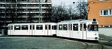 TRIEBWAGEN TYP M 5.65 Nr. 2654 münchen tram trambahn weisswursttram