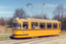 Fahrschulwagen 2924 in der Olympiaschleife münchen tram