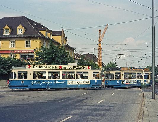 Tram Typ M 5.65 münchen 2668