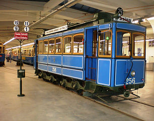 München Typ A 2.2 Tram 256