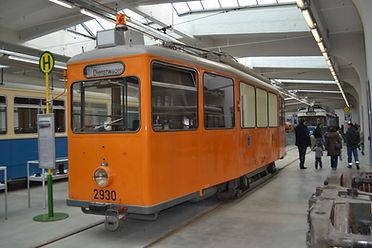 SALZSTREUWAGEN TYP SA 2.30 2930 im MVG Museum München tram