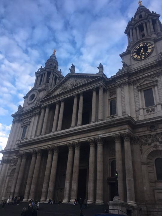 I took this on my first day in London!