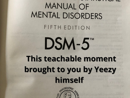 This teachable moment brought to you by Yeezy himself
