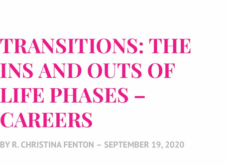 Transitions: The Ins and Outs of Life Phases: Careers
