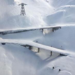 Zăpadă de peste 6 metri pe Transfăgărășan / Video