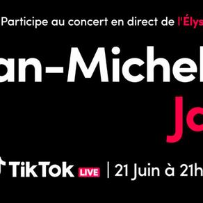 Jean-Miche Jarre revine la Palatul Élysée