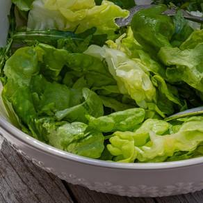 Primavara intr-o farfurie verde: salata
