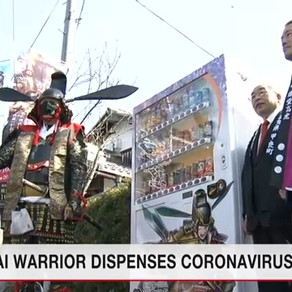 Un samurai da sfaturi despre COVID