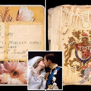 O felie din tortul de la nunta printului Charles cu Lady Diana este scoasa la licitatie