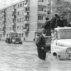 51 de ani de la inundațiile catastrofale din Satu Mare. Istoria se repetă / Foto