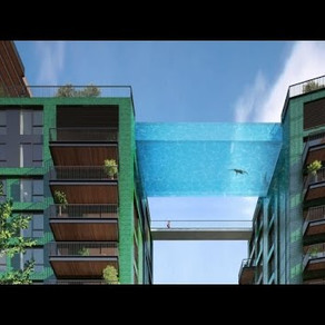 La Londra s-a construit o piscina suspendata / FOTO