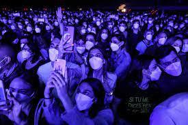 Rezultatele concertului -test cu 5000 de spectatori din Barcelona sunt excelente