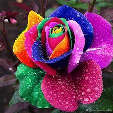 Un buchet de flori si un lacat de iubire
