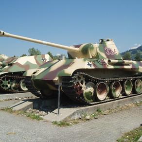 Un pensionar a ținut în pivniță un tanc din Al Doilea Război Mondial