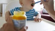 Metale grele descoperite în alimentele pentru bebeluși