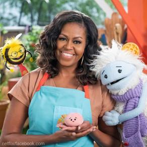 Michelle Obama este protagonista unei emisiuni pentru copii