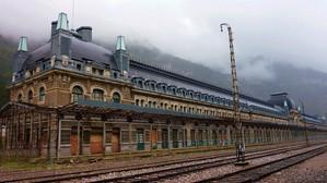 """""""Cea mai ghinionistă gară din Europa"""" va fi transformată în hotel"""
