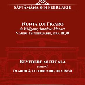 Opera Natională Bucuresti reincepe spectacolele cu Nunta lui Figaro