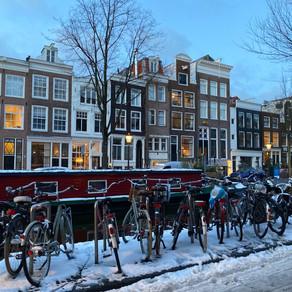 Iarna a durat o saptamana in Amsterdam / Galerie Foto