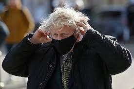 Boris Johnson s-a tuns la iesirea din lockdown