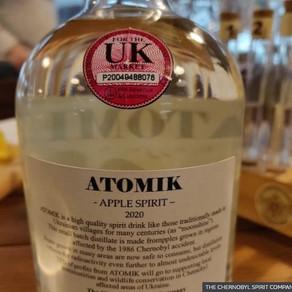 Băutură alcoolică marca Cernobîl, confiscată în Ucraina
