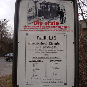 Povestea primului tramvai electric implineste 140 de ani