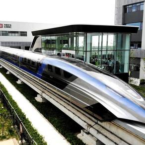 """China: Trenul care """"levitează"""" și poate atinge 600 km pe oră/ FOTO"""