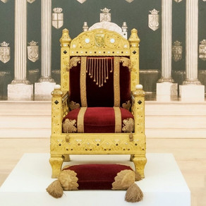 Tronul Regelui Carol I al României, prezentat pentru prima dată după 70 de ani