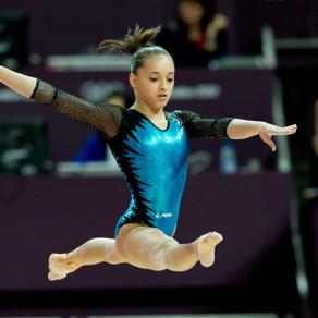 Gimnasta Larisa Iordache concurează astăzi pentru Jocurile Olimpice de la Tokyo