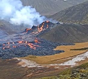Un vulcan ar putea deveni atractie turistica perfecta/FOTO+VIDEO