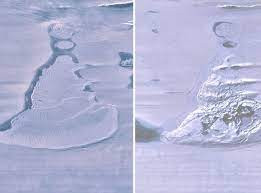 Un urias lac antarctic a disparut brusc