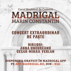 Concertul extraordinar de Paște, gratuit online