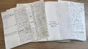 Manuscris unic, adnotat de Napoleon Bonaparte, scos la licitație