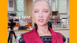Robotul umanoid Sophia îi va ajuta pe oameni să treacă mai ușor peste pandemie