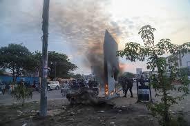 Sfarsitul incendiar al celui mai recent monolit misterios/FOTO+VIDEO