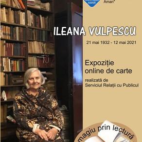 Omagiu adus scriitoarei Ileana Vulpescu de Biblioteca 'Aman'/VIDEO