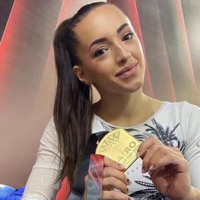 Medalie de aur pentru Larisa Iordache