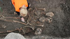 Cimitir din perioada medievală, descoperit la Galați