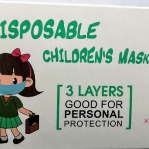 Atentie la mastile pentru copii!