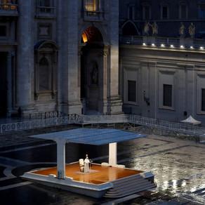 Al doilea Paste in format restrans la Vatican