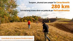 A fost inaugurat cel mai lung traseu Via Transilvanica