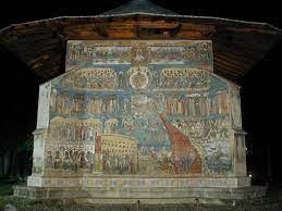 Expozitie despre Manastirea Voronet la Biblioteca Academiei Romane